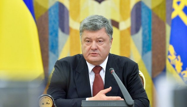 UN peacekeepers should be located throughout Donbas territory – Poroshenko