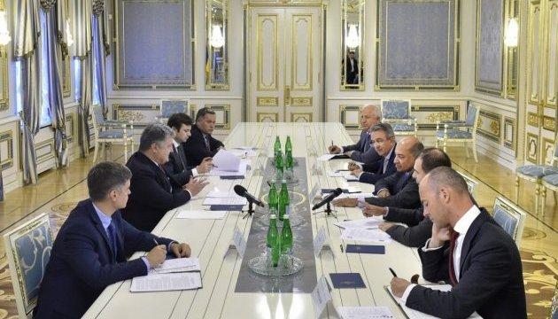 Порошенко обговорив із президентом ЄБРР фінансування проектів в Україні