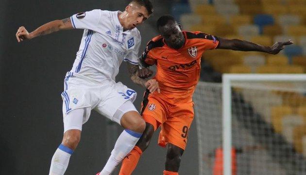 Dynamo beat Skenderbeu in first round of Europa League