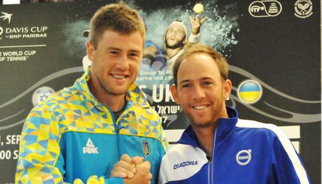 Теніс: Україна повела в рахунку у матчі Кубка Девіса проти Ізраїлю