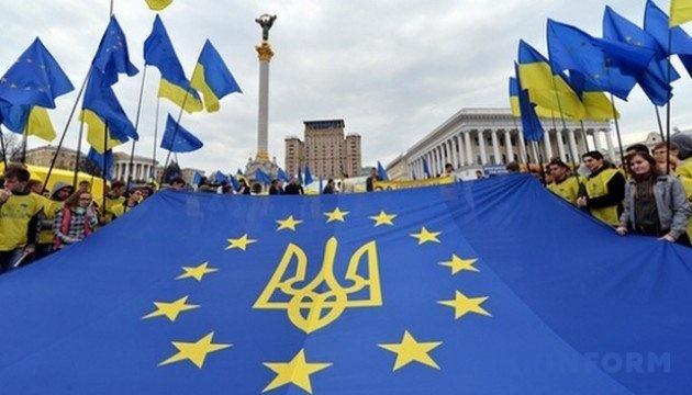 Almost half of Ukrainians support path towards EU membership