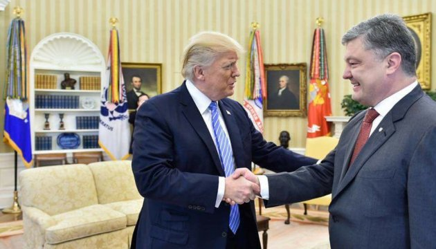 Meeting between Ukrainian, U.S. presidents begins in New York