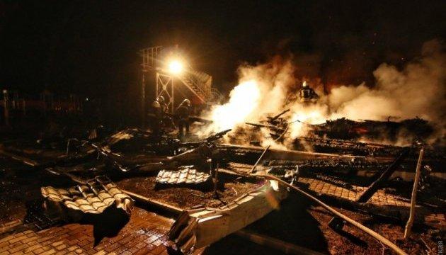 На місці пожежі в одеському таборі знайшли двох загиблих - ЗМІ