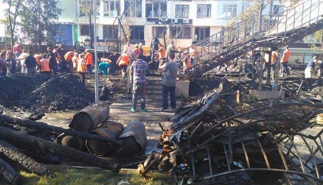 Пожежа в одеському таборі: поліція порушила справу
