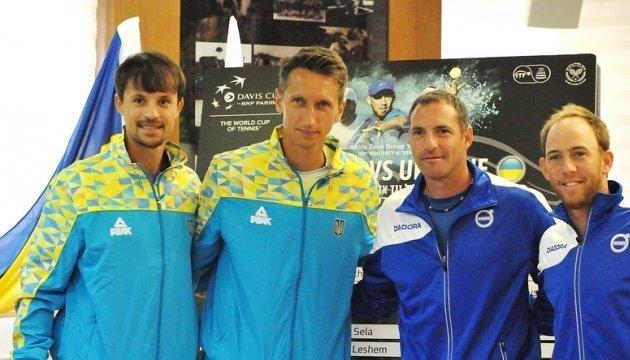 Теннисисты сборной Украины победили Израиль в матче Кубка Дэвиса