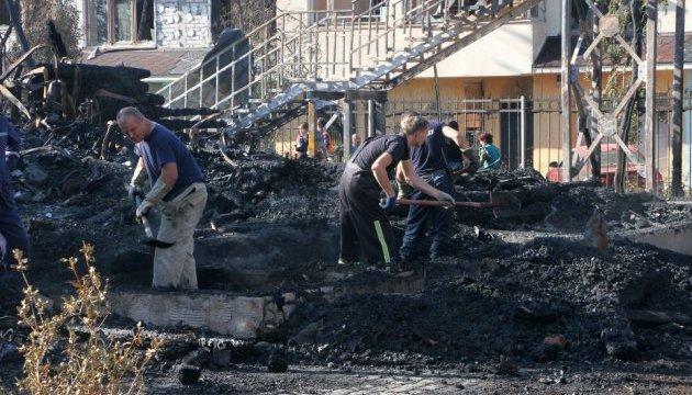 Слідство відпрацьовує три версії пожежі в одеському таборі