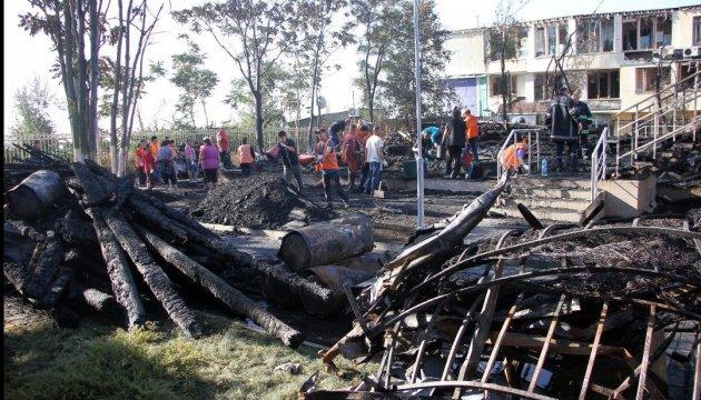 Пожежа в дитячому таборі: Зубко їде до Одеси