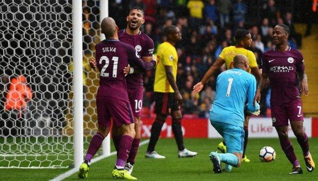 АПЛ: «Манчестер Сіті» розгромив «Вотфорд»