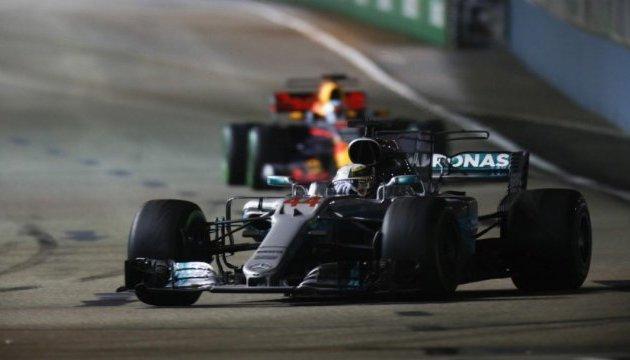 Формула-1: Хемілтон переміг на Гран-прі Сінгапуру