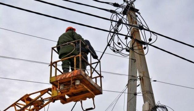 Bad weather leaves 478 towns and villages in Ukraine without electricity