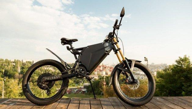 乌克兰人设计出可与特斯拉媲美的电动摩托车