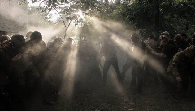Поліція Чорноморська порушила справу за бійку під судом