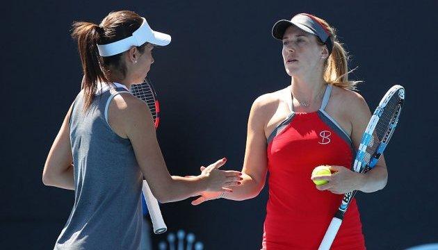 Ольга Савчук зупинилася за крок до парного півфіналу на турнірі WTA в Токіо