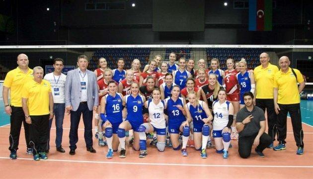 Українські волейболістки вирушають на Євро-2017