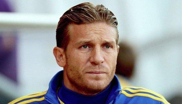 Andriy Voronin, seleccionador del equipo nacional de Ucrania