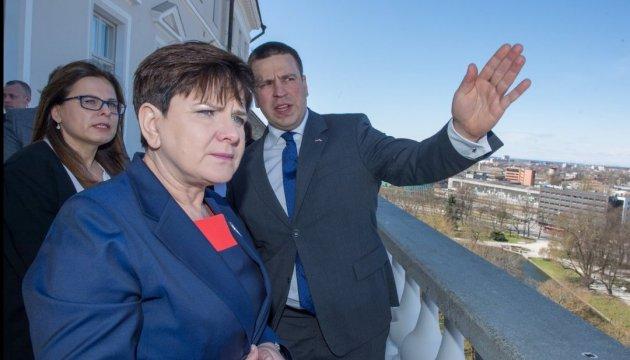 Запад-2017: польський та естонський прем'єри обговорили загрози
