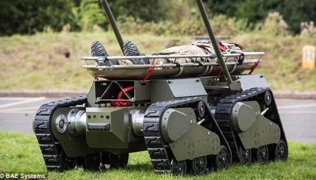 Британці створили бойових роботів, які можуть воювати як танки