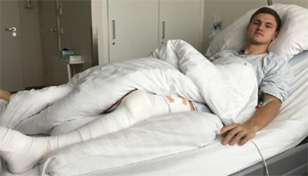 Калитвинцев: Операція пройшла успішно, але в цьому сезоні вже не зіграю