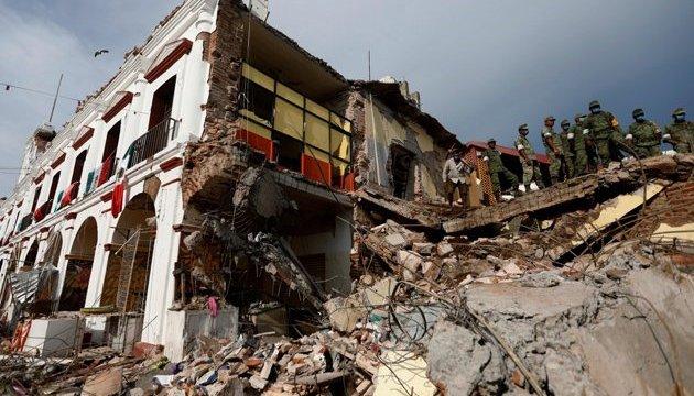 Землетрус у Мексиці: вже 286 загиблих