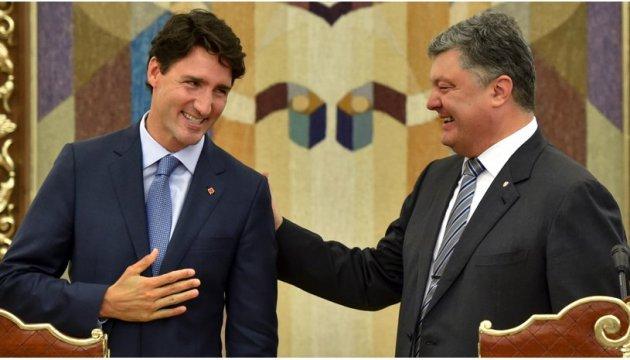 Порошенко у Канаді узгодить позиції із «друзями України» - посол