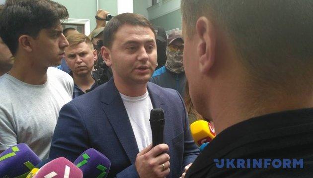 До протестувальників в Одесі вийшов прокурор області