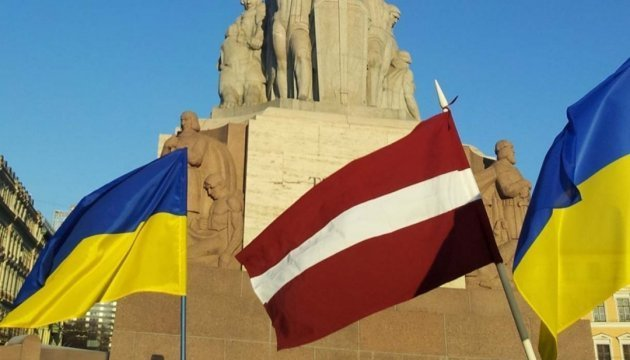Latvia sees restoration of Ukraine's territorial integrity as its priority