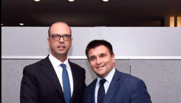 Alfano, Klimkin to visit Donbas on January 31
