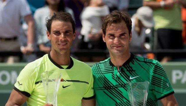 Теніс: Федерер і Надаль вперше зіграють в парі