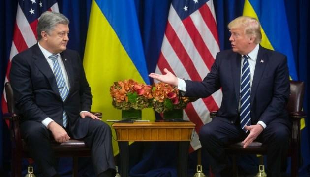 Порошенко рассказал о сути разговора с Трампом