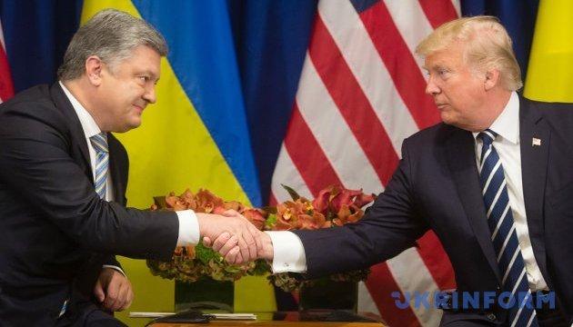 Трамп не сдал ни одной позиции по Украине - Порошенко