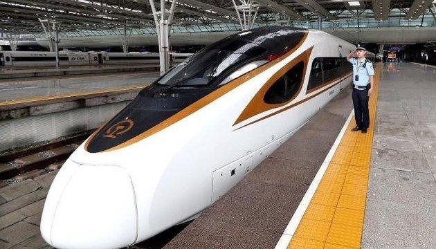 Китай запустив найшвидший у світі потяг