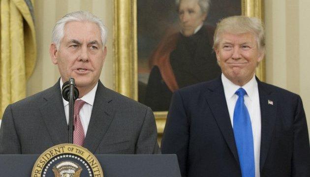 Отношения Тиллерсона и Трампа достигли