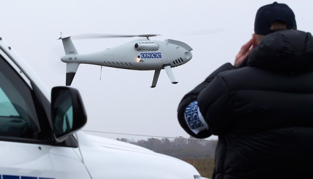 OSCE report: UAV records 30 tanks in non-government controlled areas in eastern Ukraine