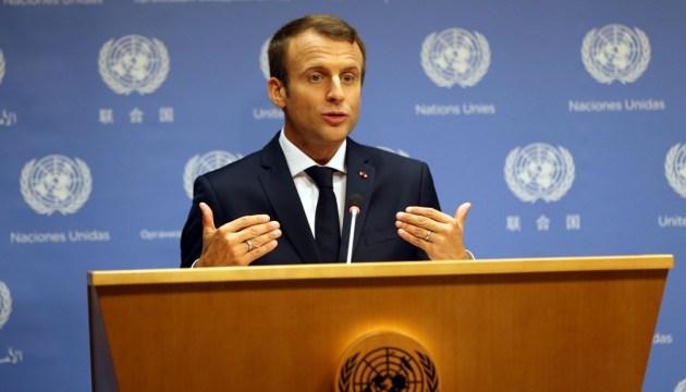 Макрон: Ракетні удари – це не оголошення війни режиму Асада