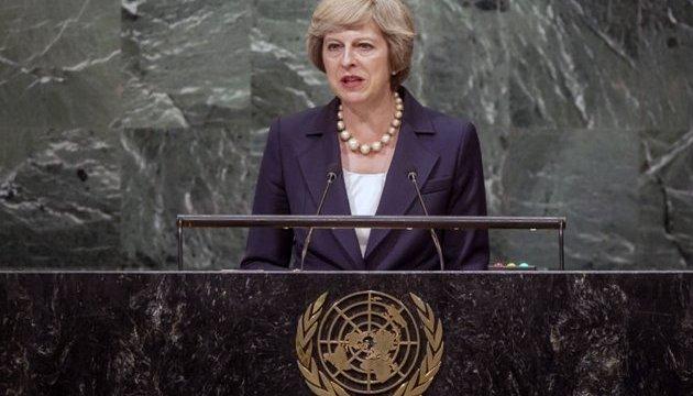 Британия будет защищать Европу от России и после Brexit - Мэй