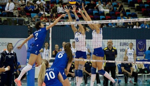 Збірна України зіграла перший матч на жіночому Євро-2017 з волейболу