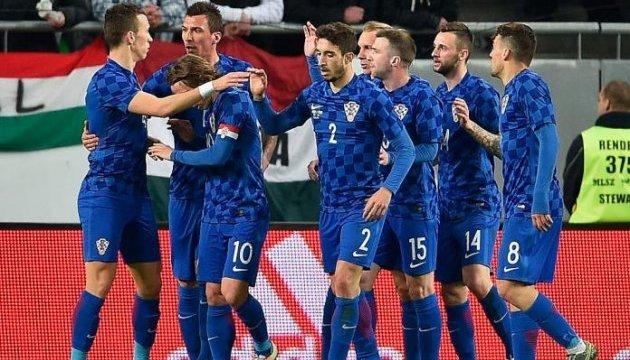 Хорватія назвала склад проти України