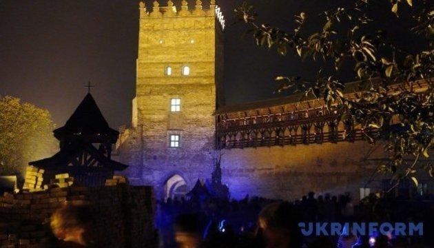 Le théâtre du feu et le show de la lumière seront au programme du festival au château de Loutsk
