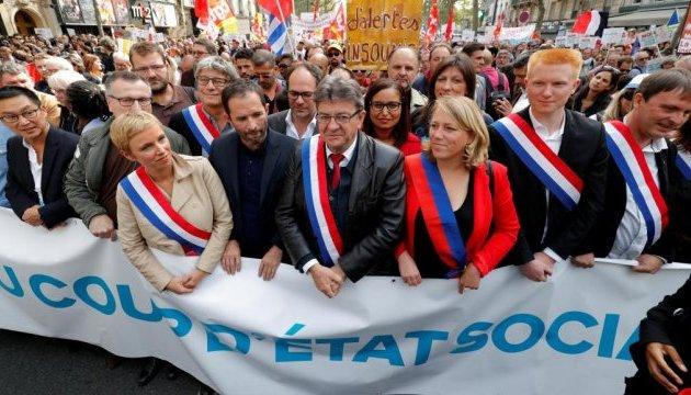 На марші проти реформи Макрона вийшли 400 тисяч французів