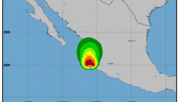 """У побережья Мексики сформировался тропический шторм """"Пилар"""""""