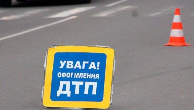 В Киеве столкнулись две маршрутки: 12 человек пострадали