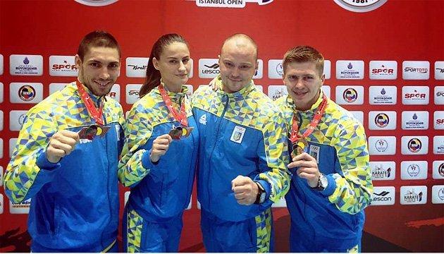 Україна здобула 3 бронзові нагороди на турнірі Karate 1 в Стамбулі