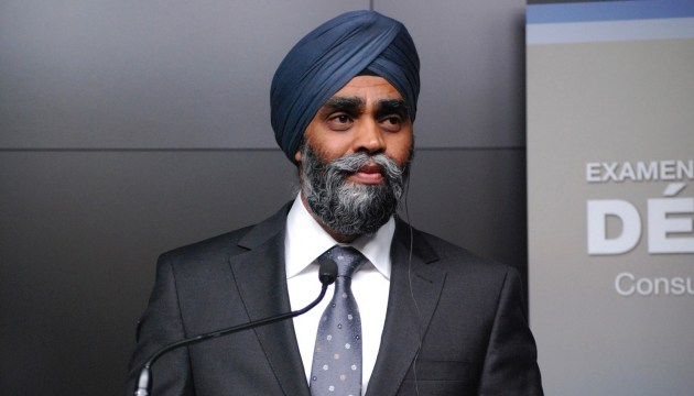 Ministers Sajjan, Poltorak to meet at UN Peacekeeping Defence Ministerial conference