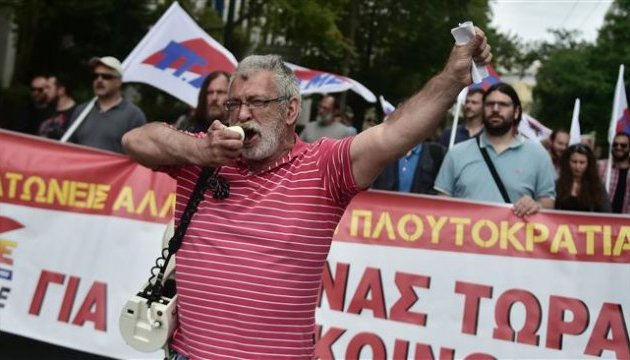 В Греции не выходят новости - бастуют журналисты