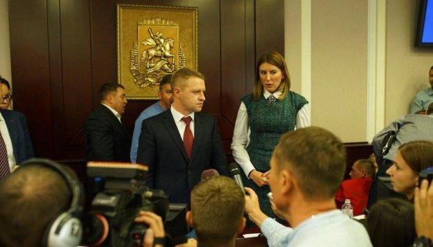 Голова Київської ОДА прокоментував зрив сесії та бійку в облраді