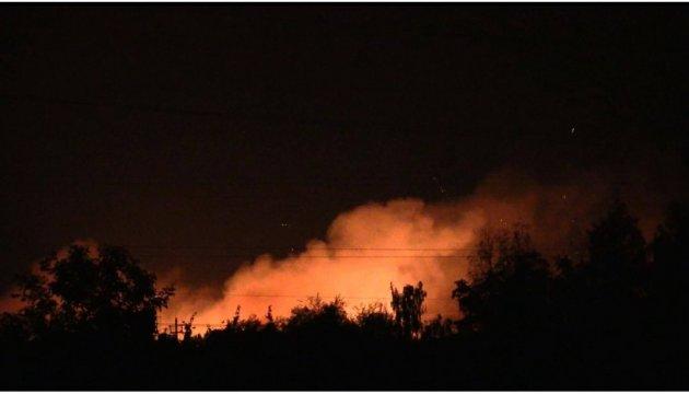 Brand auf Munitionslagern in Kalyniwka: Generalstab schließt Provokation der Saboteure nicht aus