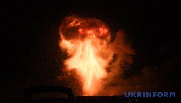 На складах у Калинівці зараз лунають лише поодинокі вибухи - Генштаб