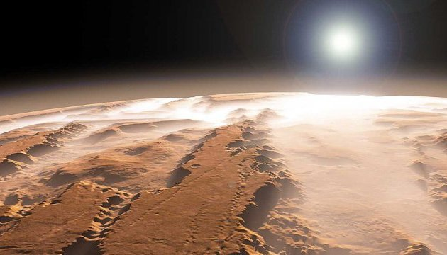 NASA нашло на Марсе занесенную песком станцию