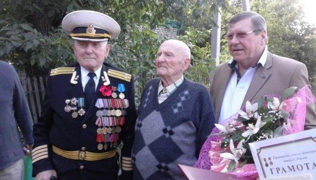 На Кіровоградщині вітали столітнього моряка