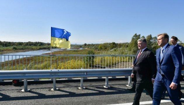 На строительстве моста на Прикарпатье сэкономили 30 миллионов - Президент